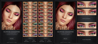 Valentina Eyeshadows - Lelutka Evo/Catwa HDPRO | by Veronika Blackwood