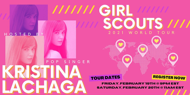 Kristina Lachaga - Girl Scouts World Tour