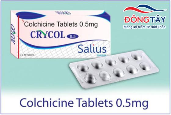 Colchicine được cho là làm giảm biến cố tim mạch ở người bệnh mạch vành