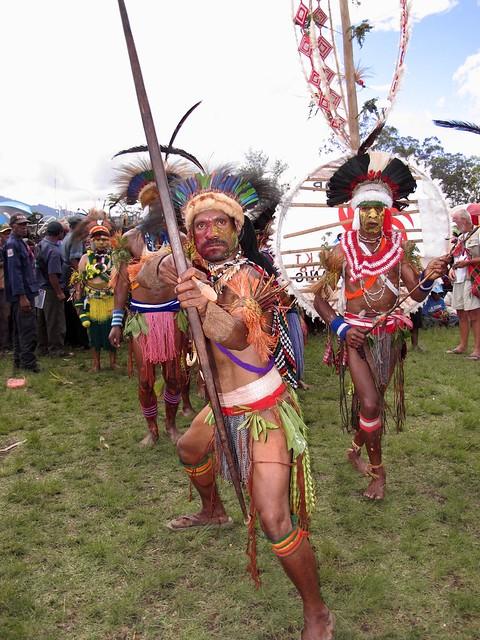 Warrior / Goroka show