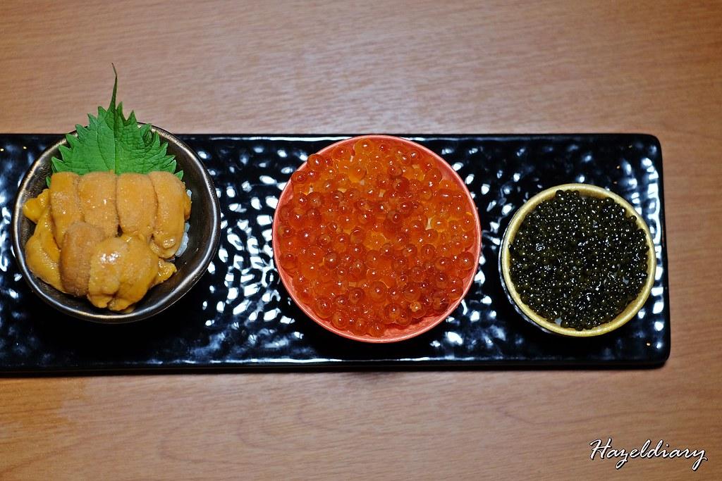 Rockon Tokyo-Ikura Uni Caviar