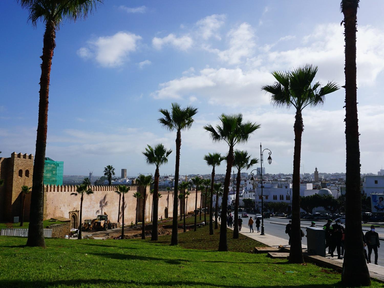 Rabat kasbah walls