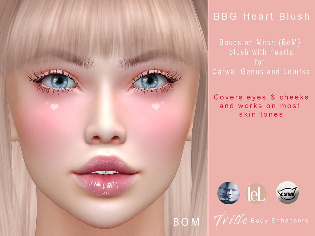 Tville – BBG Heart Blush
