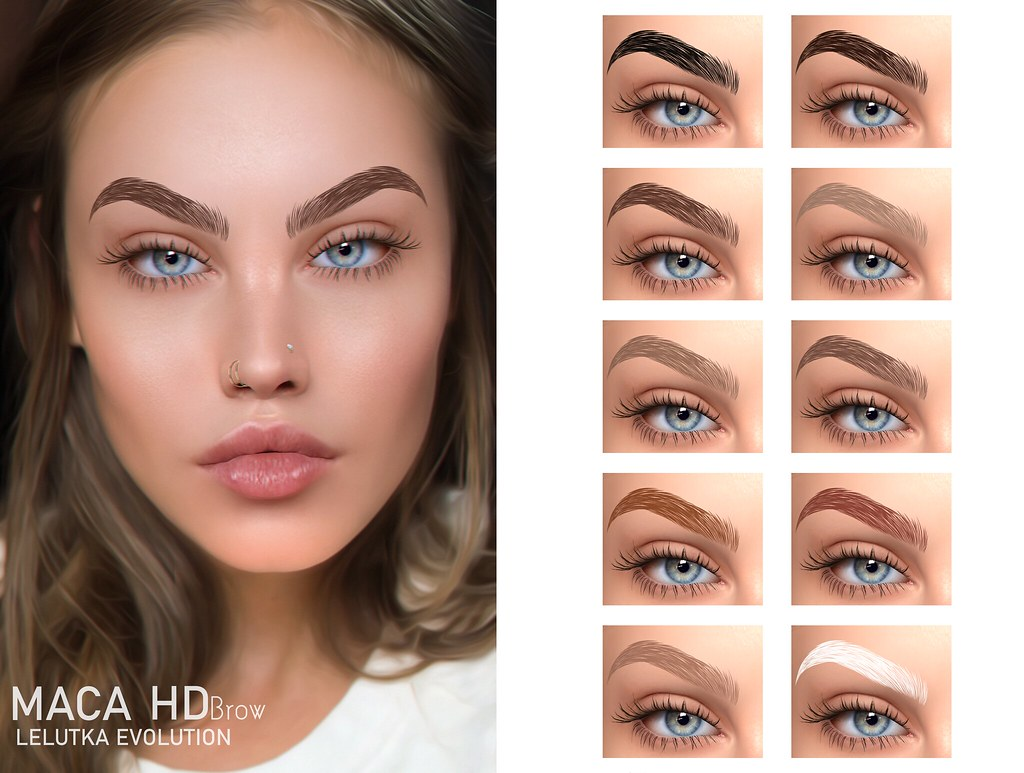 EUDORA BEAUTY - MACA EYEBROWS HD [ LELUTKA EVOLUTION]