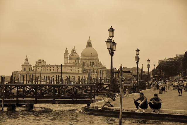 Venice -  ponte della Paglia