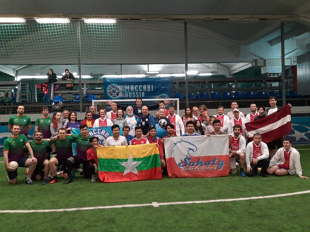 Russia-2021-01-06-UPF Team Plays 'Football for Peace'