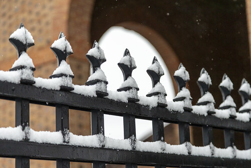 Scenes from a snow day: ironworks