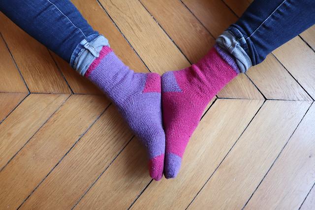2 - Les chaussettes Beloved (version simplifiée)