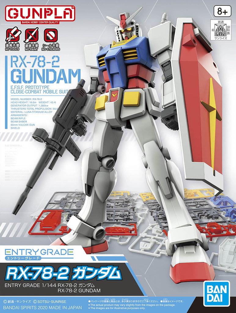 「EG 1/144 RX-78-2 鋼彈」附上槍盾零件版本 05 月再登場!