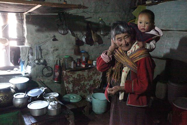 BHUTANESE GRANNY