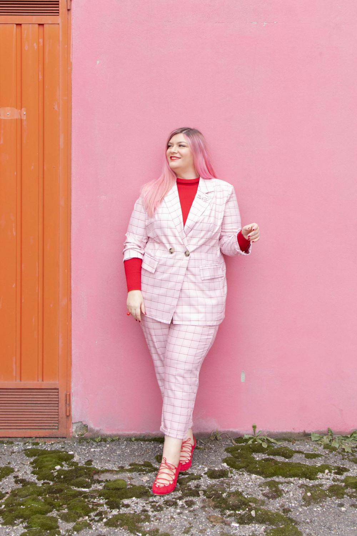 curvy color challenge monocromatico rosso e rosa (2)