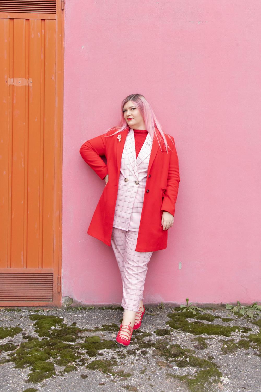 curvy color challenge monocromatico rosso e rosa (4)