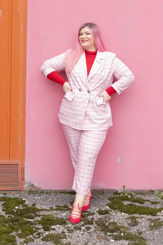 curvy color challenge monocromatico rosso e rosa (3)