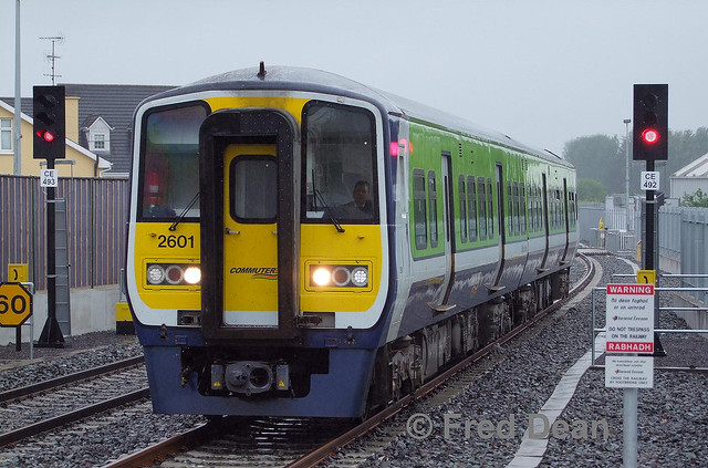 Irish Rail 2601/02 in Midleton.