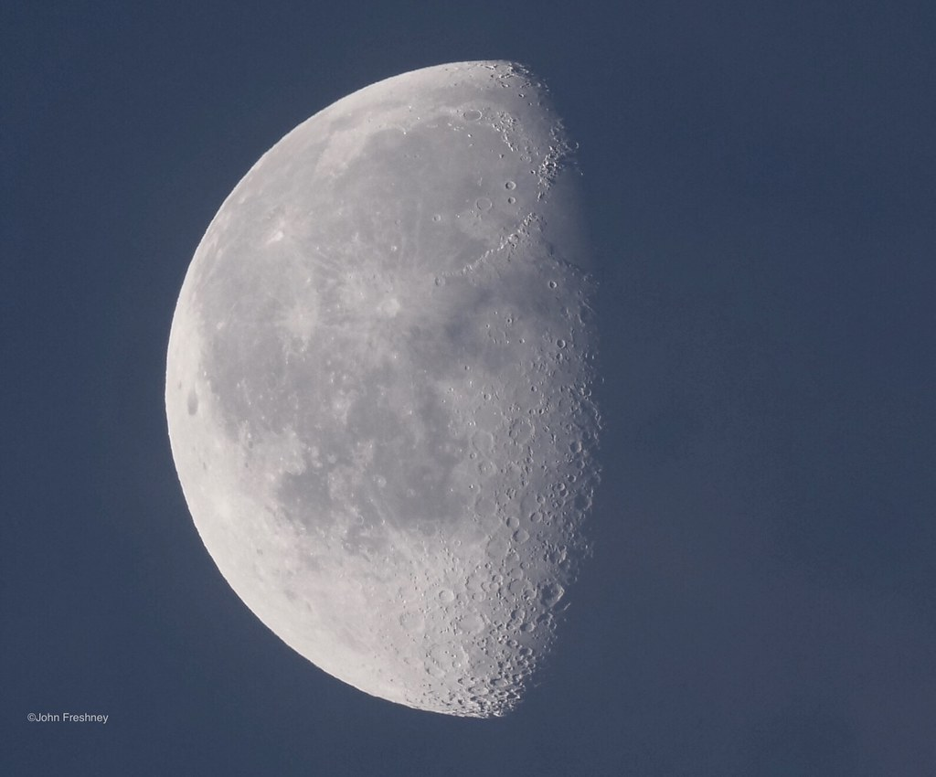 The Moon this morning 3rd February 2021