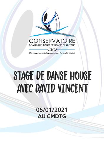 Stage de danse house avec David Vincent (06/01/2021)