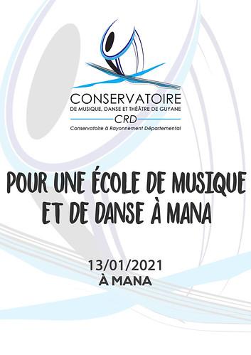 Pour une école de musique et de danse à Mana