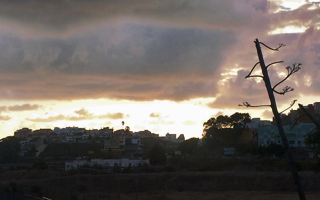 01 Tamaraceite Carretera de Teror GC21 Romeria del Pino 2018 de Tamaraceite a Teror Gran Canaria