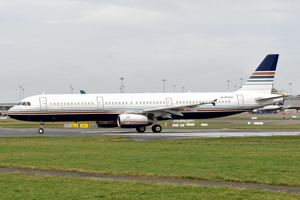 EI-GTZ / EC-NLJ A321-231 Privilege Style