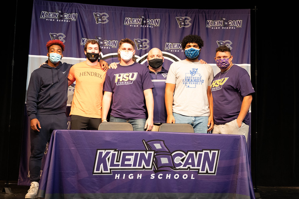 Klein Cain High School Signing Day 2021