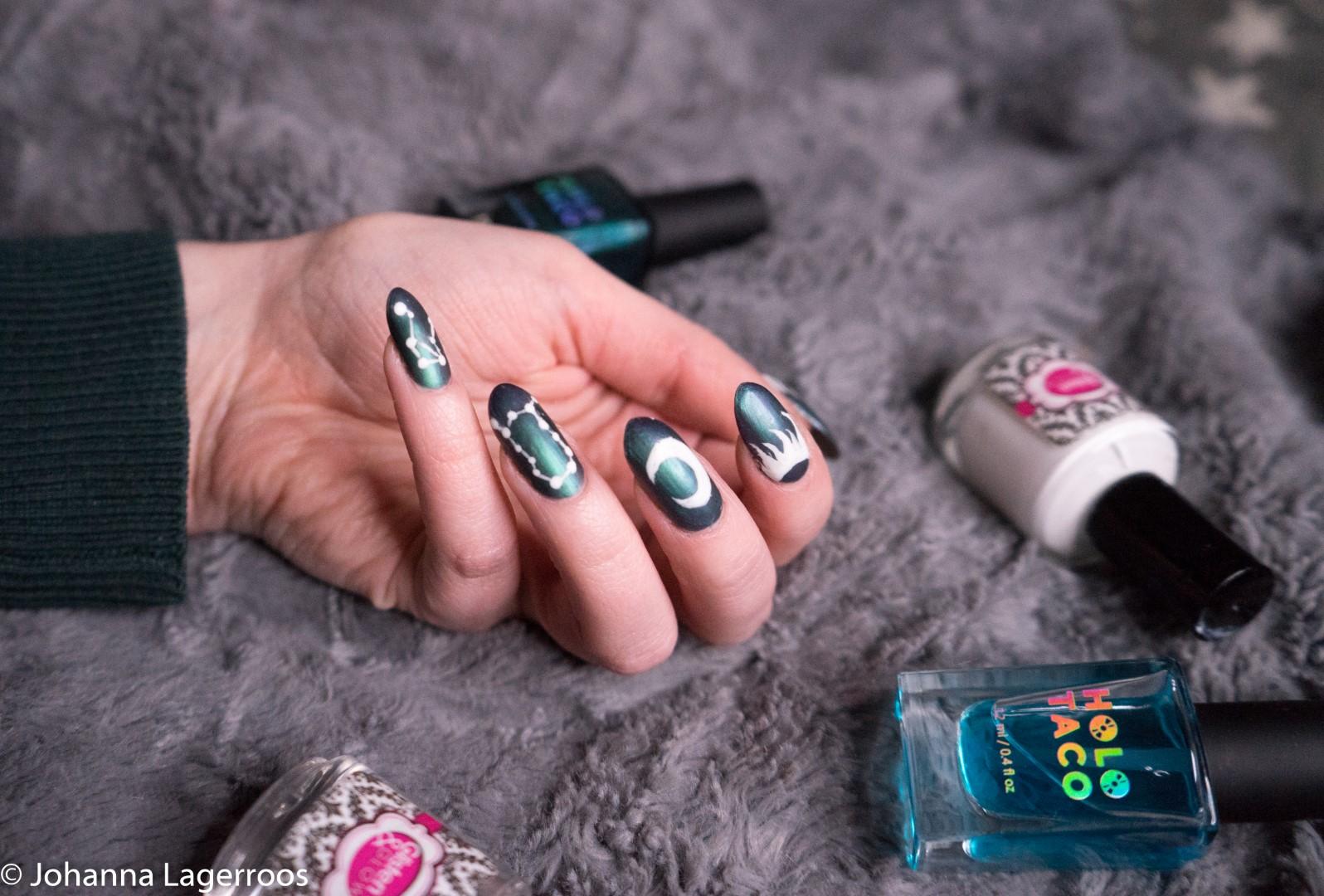 holo taco nail polish