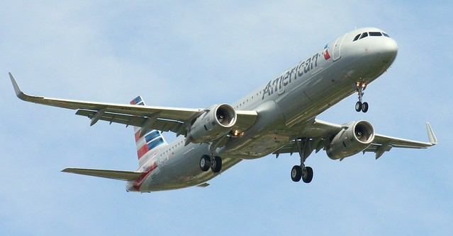 American Airlines, D-AZAW, Reg.N141NN,MSN 6656,Airbus A321-231SL, 10.07.21.08.2015,HAM-EDDH, Hamburg