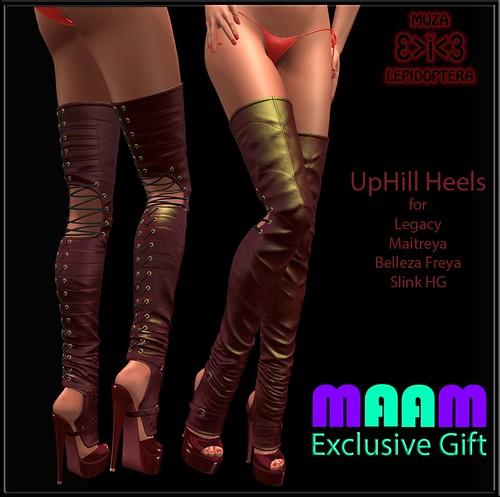 MAAM Gift UpHill Heels