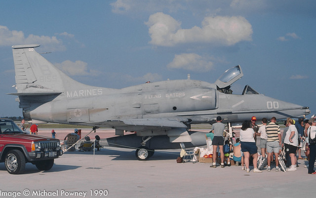 158155 - Douglas A-4M Skyhawk, airframe later retired to AMARC