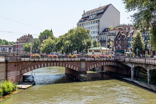 Pont National, Strasbourg, Alsace, France