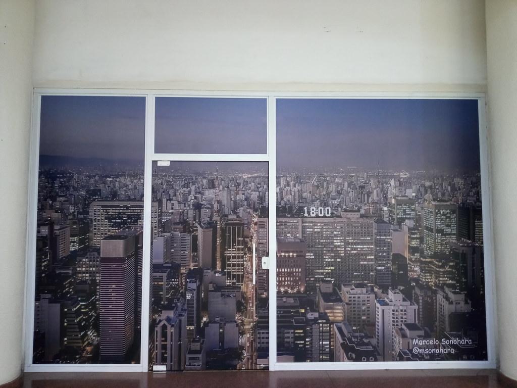 São Paulo Avenida Paulista WINDOW TO BABYLON
