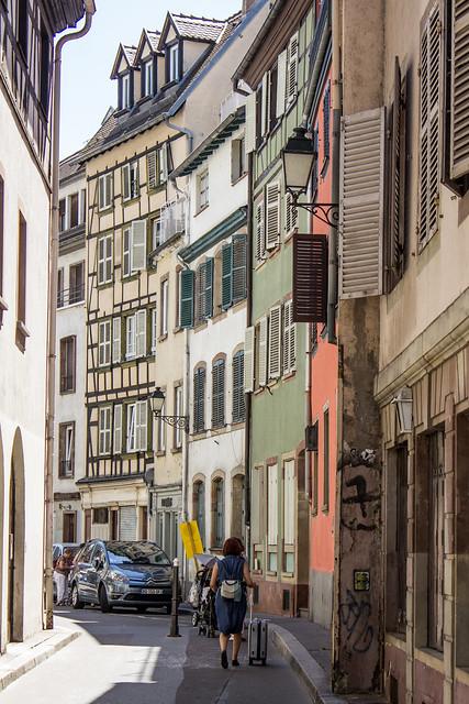 Rue Adolphe Seyboth, Strasbourg, Alsace, France