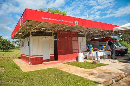 Samu ganha base mais moderna na Asa Norte
