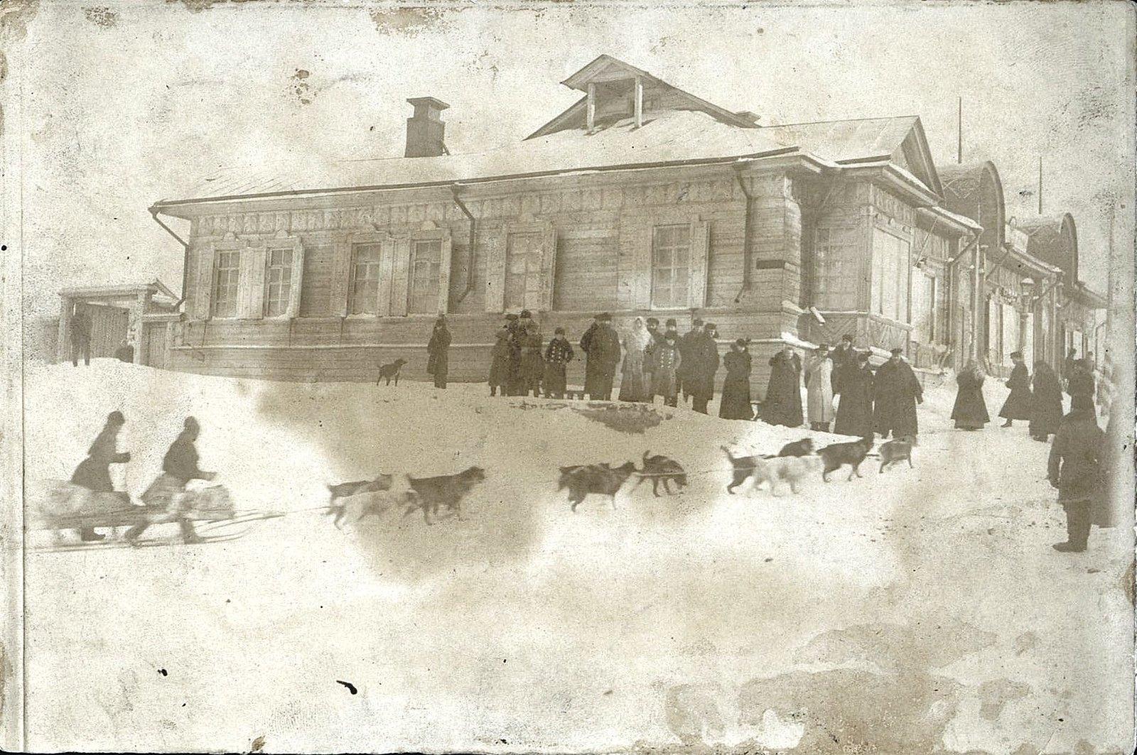 22. Встреча почты на Александровском посту. 1900-е