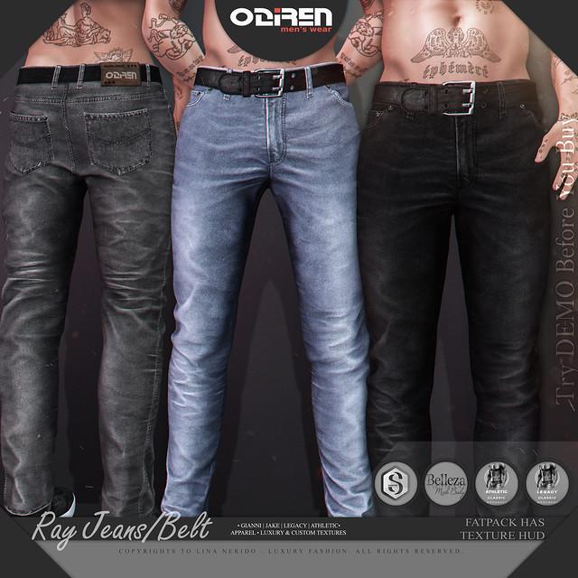-ODIREN- Ray Jeans