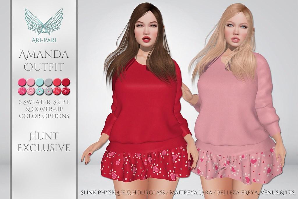 [Ari-Pari] Amanda Outfit