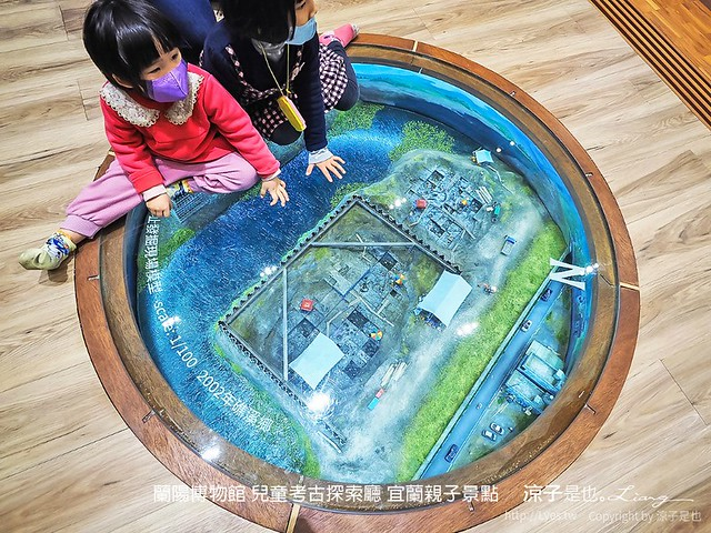 蘭陽博物館 兒童考古探索廳 宜蘭親子景點