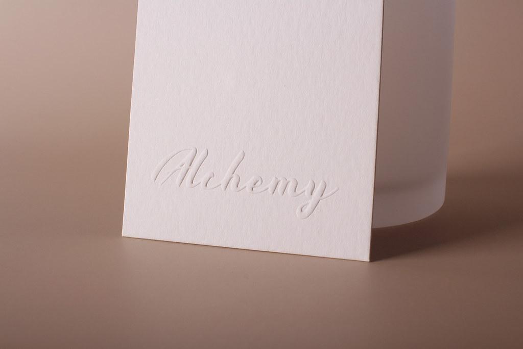 Premium Embossed Business Cards