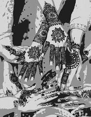 Henna Adorned Hands