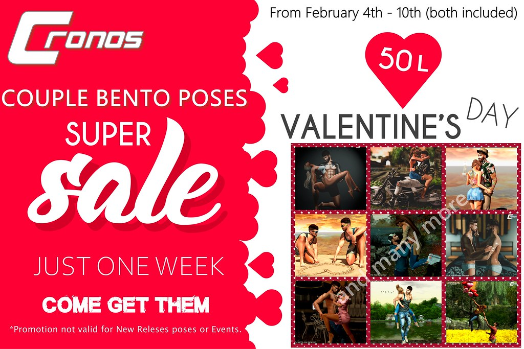 SUPER SALE 50L$ VALENTINE'S DAY