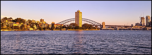 ballsheadbay sydney harbour sydneyharbour bluespointtower bluespoint sunset
