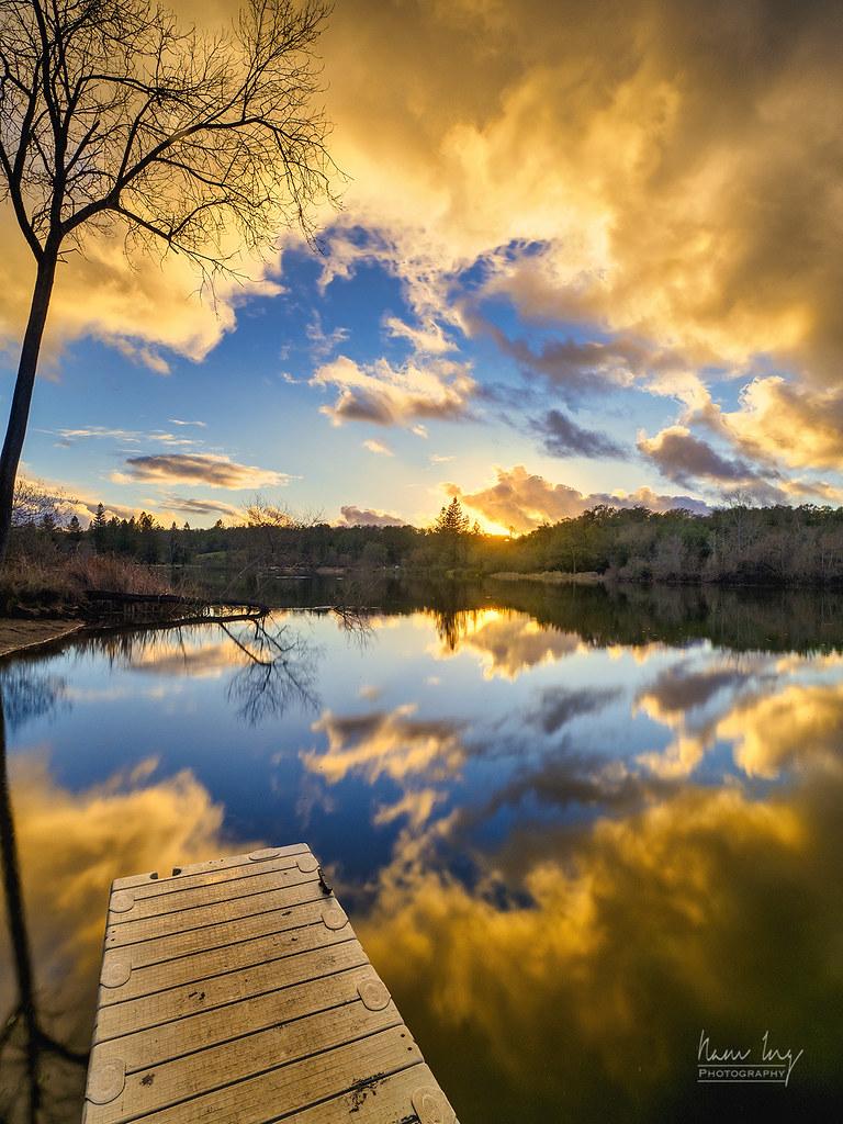 Spring Lake Sunset 50907354931_114f45c89b_b