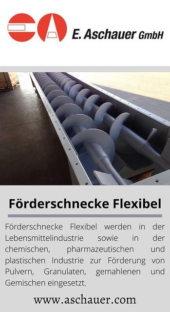 Förderschnecke Flexibel