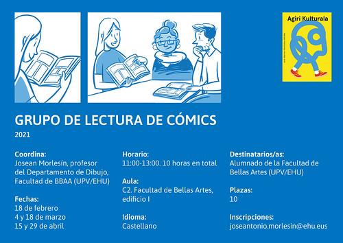 cartel grupo lectura comic 2021_CAST