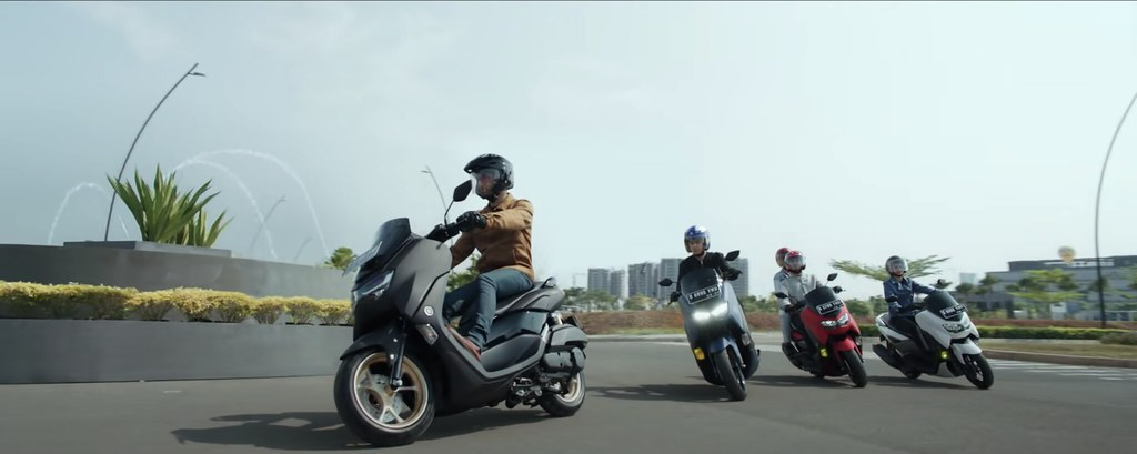 All New Yamaha NMax Connected Feature