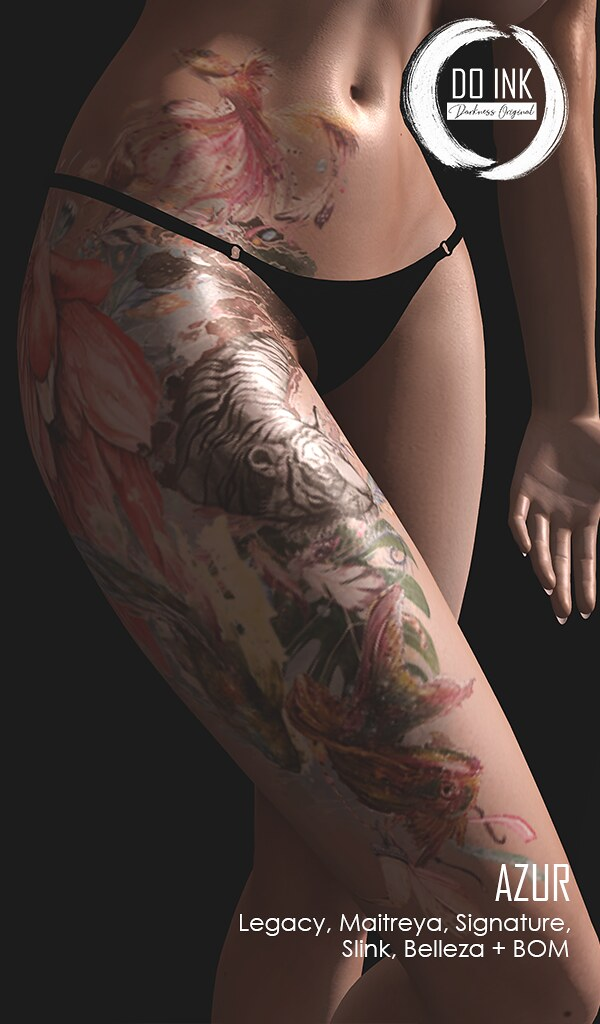 DO INK TATTOO AZUR EXCLUSIVE FOR UNIK EVENT