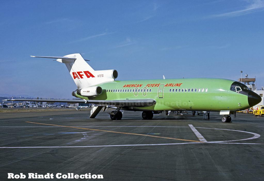 American Flyers Airlines (AFA) B727-27C N7270
