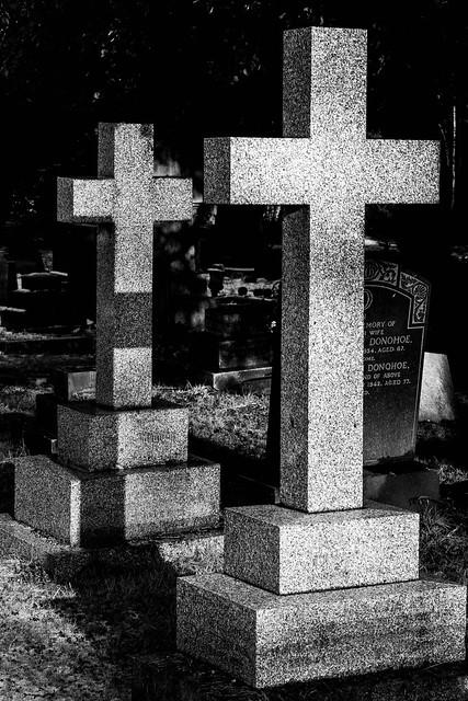 twin crosses