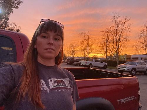 santaclarita clouds sky february work selfie sunset iphone11 wednesday 365days