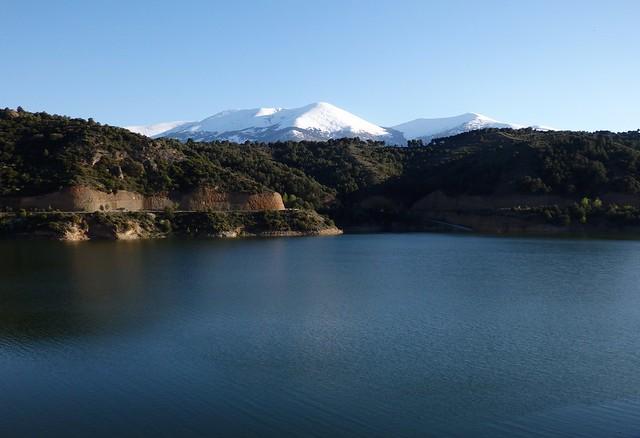 Moncayo desde el pantano del Val - Los Fayos - Zaragoza.