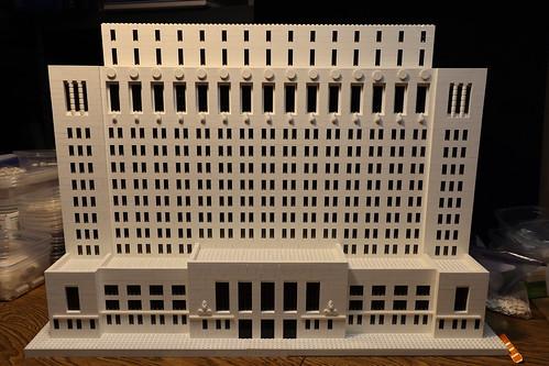 Ohio Supreme Court building - LEGO
